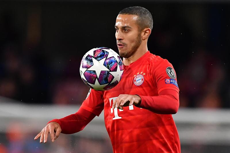 Liverpool target Thiago Alcantara recently helped Bayern Munich to Champions League success over PSG in Lisbon (AFP via Getty Images)