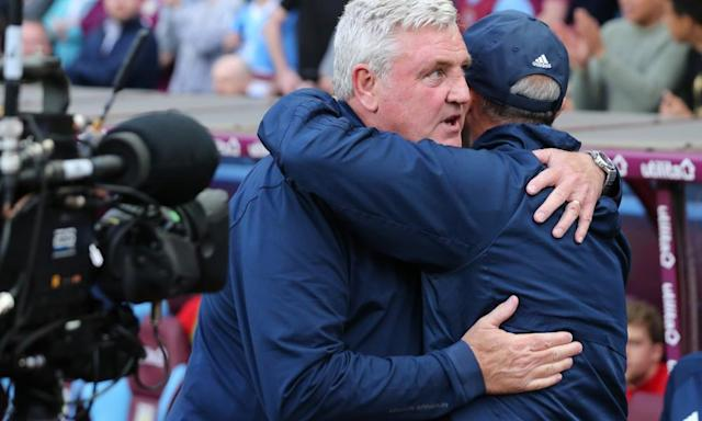 Aston Villa's Steve Bruce seeks solace on pitch after torrid few months