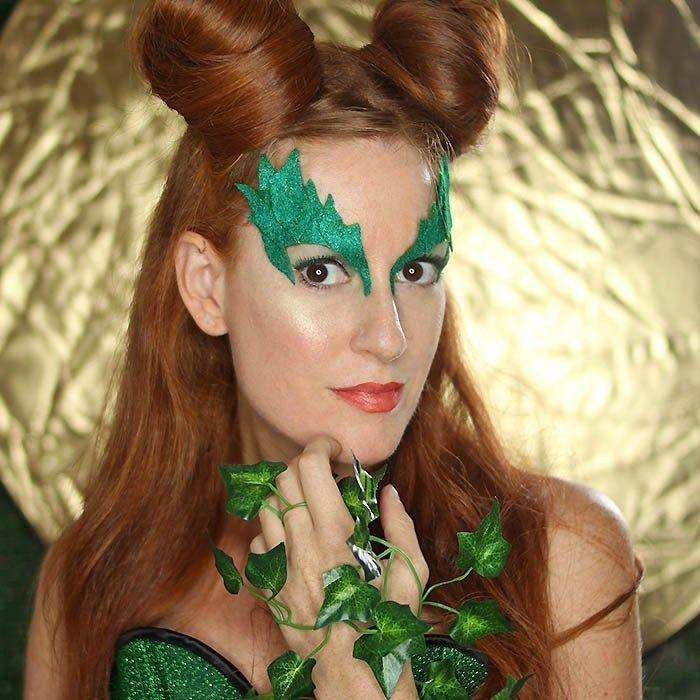 """<p>If you want to bring the ivy appeal front and center on your face, make sure to keep this DIY mask handy. All you need is green felt, metallic green paint, fake ivy, and hot glue for an accessory that's sure to get loads of compliments on October 31.</p><p><strong>Get the tutorial at </strong><a href=""""https://gina-michele.com/2017/10/poison-ivy-costume-eye-mask-diy-2.html"""" rel=""""nofollow noopener"""" target=""""_blank"""" data-ylk=""""slk:Gina Michele"""" class=""""link rapid-noclick-resp""""><strong>Gina Michele</strong></a><strong>.</strong></p><p><a class=""""link rapid-noclick-resp"""" href=""""https://www.amazon.com/2-Pack-DecoArt-Dazzling-Metallics-2-Ounces/dp/B07HXMRM98/ref=asc_df_B07HXMRM98/?tag=syn-yahoo-20&ascsubtag=%5Bartid%7C10050.g.29402429%5Bsrc%7Cyahoo-us"""" rel=""""nofollow noopener"""" target=""""_blank"""" data-ylk=""""slk:SHOP METALLIC GREEN PAINT""""><strong>SHOP METALLIC GREEN PAINT</strong></a></p>"""