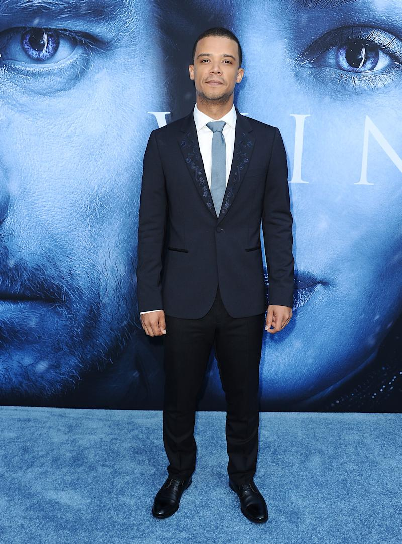 Jacob Anderson at the premiere of Game of Thrones season seven in Los Angeles, California, July 2017.