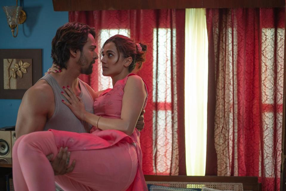 """<p>In this Hindi-language psychological thriller, a woman suspected of murdering her husband recounts how a dangerous love triangle between her and two men eventually led to a murder. </p> <p><a href=""""http://www.netflix.com/title/81320770"""" class=""""link rapid-noclick-resp"""" rel=""""nofollow noopener"""" target=""""_blank"""" data-ylk=""""slk:Watch Haseen Dillruba on Netflix."""">Watch <strong>Haseen Dillruba</strong> on Netflix.</a><br></p>"""