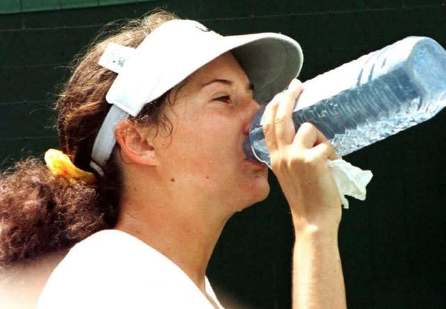 Monica Seles made a stir early in her career (Tim Ockenden/PA)