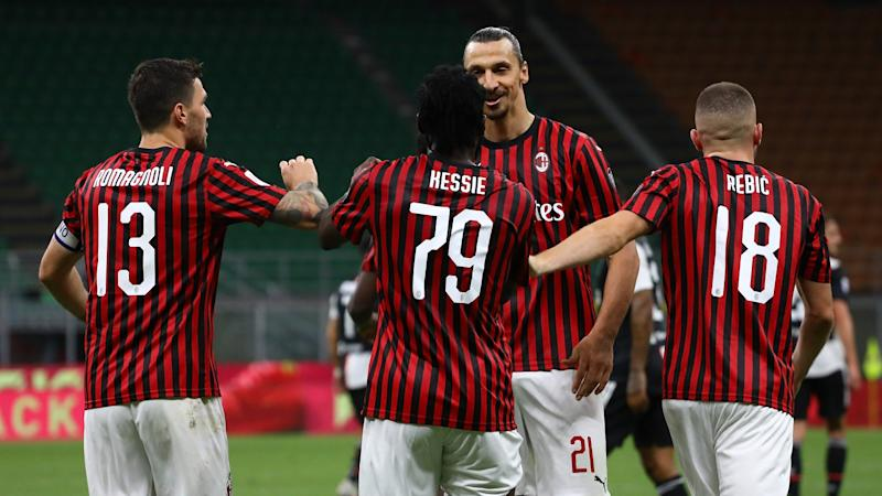 Milan 4-2 Juventus: Rebic leads rapid recovery to stun Serie A leaders