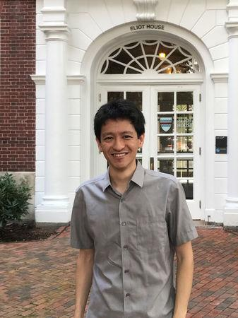 Li Shengwu who faces contempt of court proceedings in his homeland at Harvard University