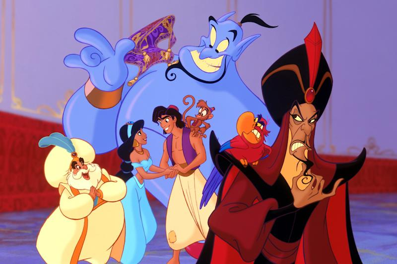New Aladdin movie sparks race row as actors 'brown up'