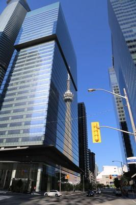 IBM Canada's new office space in downtown Toronto will support a flexible return-to-workplace model and 500 new hires in the GTA. (Image courtesy of Cadillac Fairview)