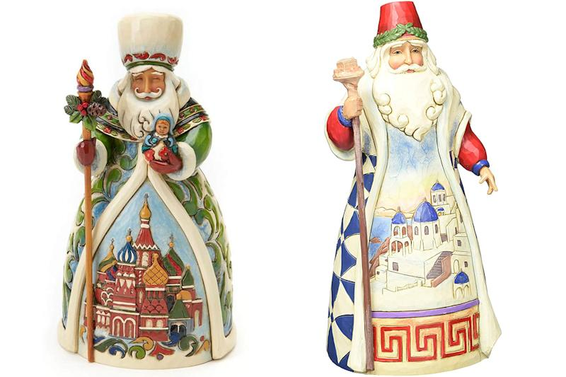 Russian and Greek Santa from the Santas Around the World Collection. (Photo: Amazon)