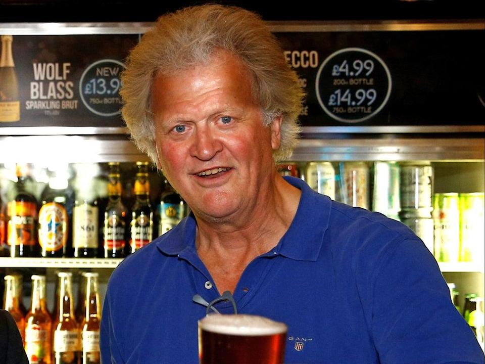 JD Wetherspoon boss Tim Martin was a vocal supporter of Brexit  (PA)