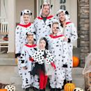 """<p>These <a href=""""https://www.amazon.com/followme-6422-XXL-Adult-Onesie-Pajamas/dp/B01JJCL5D0/?tag=syn-yahoo-20&ascsubtag=%5Bartid%7C2089.g.22530616%5Bsrc%7Cyahoo-us"""" rel=""""nofollow noopener"""" target=""""_blank"""" data-ylk=""""slk:Dalmatian onesies"""" class=""""link rapid-noclick-resp"""">Dalmatian onesies</a> are comfy and easy to slip on. The only question is: Who gets to be Cruella?</p><p><a class=""""link rapid-noclick-resp"""" href=""""https://www.amazon.com/s?k=101+Dalmatians+costumes&ref=nb_sb_noss&tag=syn-yahoo-20&ascsubtag=%5Bartid%7C2089.g.22530616%5Bsrc%7Cyahoo-us"""" rel=""""nofollow noopener"""" target=""""_blank"""" data-ylk=""""slk:SHOP THE LOOKS"""">SHOP THE LOOKS</a></p><p><strong>Instagram:</strong> <a href=""""https://www.instagram.com/p/Ba-TwkqHtwF/?taken-by=danidx11"""" rel=""""nofollow noopener"""" target=""""_blank"""" data-ylk=""""slk:@danidx11"""" class=""""link rapid-noclick-resp"""">@danidx11</a><br></p>"""