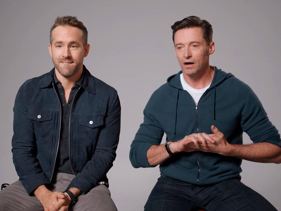 Ryan Reynolds and Hugh Jackman made ads for each other's companies