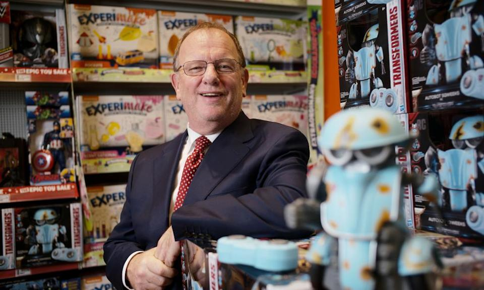 Gary Grant, owner of toy chain The Entertainer, plans to open his stores 12 hours a day.