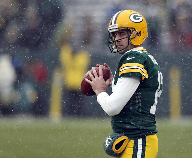 Aaron Rodgers and the Packers are looking at a lost season at 4-7-1. Next season will be under a new head coach as Mike McCarthy was fired following Sunday's defeat to Arizona. (Getty Images)