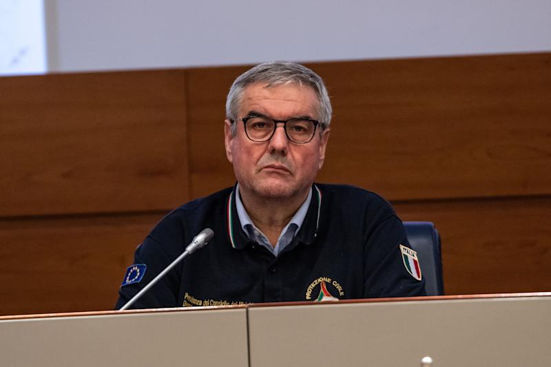 ROME, ITALY - 2020/02/22: Head of the Department of Civil Protection, Angelo Borrelli attends the press conference at the Civil Protection Department, after the meeting of the Council of Ministers. (Photo by Cosimo Martemucci/SOPA Images/LightRocket via Getty Images) (Photo: SOPA Images via Getty Images)