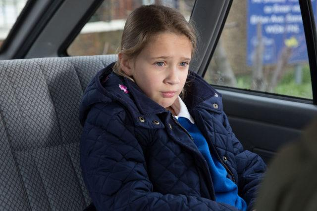 Amy in new EastEnders scenes