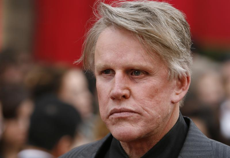 Gary Busey arrives at the 80th annual Academy Awards in Hollywood, February 24, 2008. REUTERS/Lucas Jackson (UNITED STATES-OSCARS)
