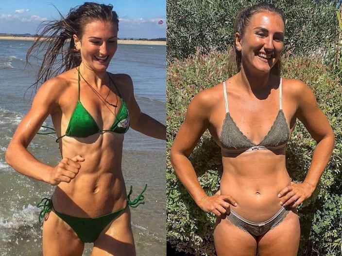 Hayley Madigan before after