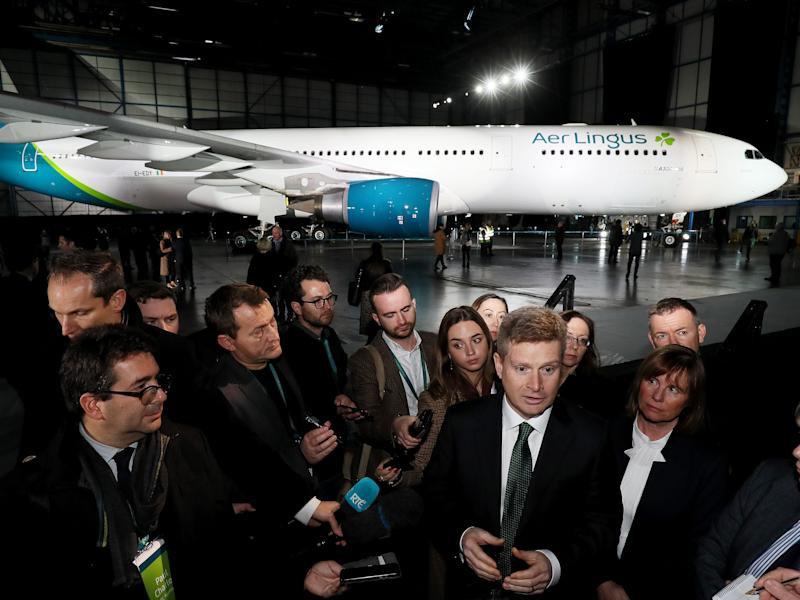 Aer Lingus Airbus A330 new livery.