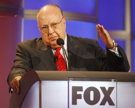 File photo of Roger Ailes, chairman and CEO of Fox News  in Pasadena