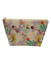 """<p>Whether or not she's getting out much these days, this TRVL Design Luxe Top Floral Zip Triangle Makeup Bag gives Grandma a gorgeous place to put her favorite and most-used makeup. Its vegan leather outer is covered in an eye-catching, vintage-y floral print that's just a joy to behold, and it's made even more glamorous by its golden lining. An additional zipper on the interior pocket ensures grandma's favorite little items like a lipstick or liner will never fall out.</p> <p><strong>$48</strong> (<a href=""""https://www.trvldesign.com/products/new-luxe-top-floral-zip-triangle"""" rel=""""nofollow noopener"""" target=""""_blank"""" data-ylk=""""slk:Shop Now"""" class=""""link rapid-noclick-resp"""">Shop Now</a>)</p>"""