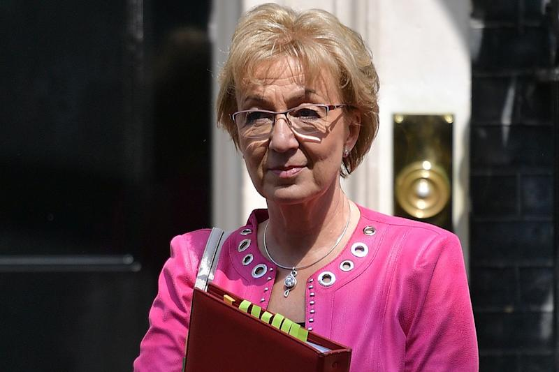 Mrs Leadsom said she was