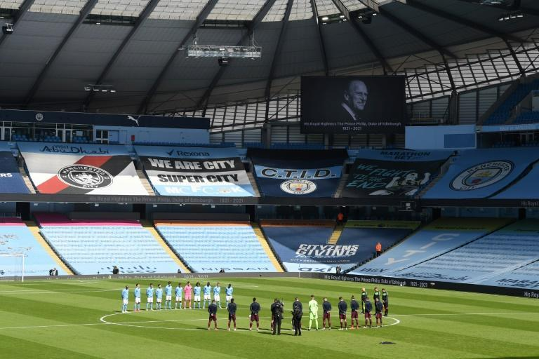 A two-minute silence is being held before all Premier League matches this weekend in honour of Prince Philip, who died on Friday