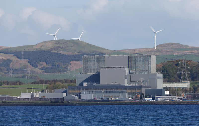 EDF to close UK Hunterston B nuclear power plant by Jan 2022