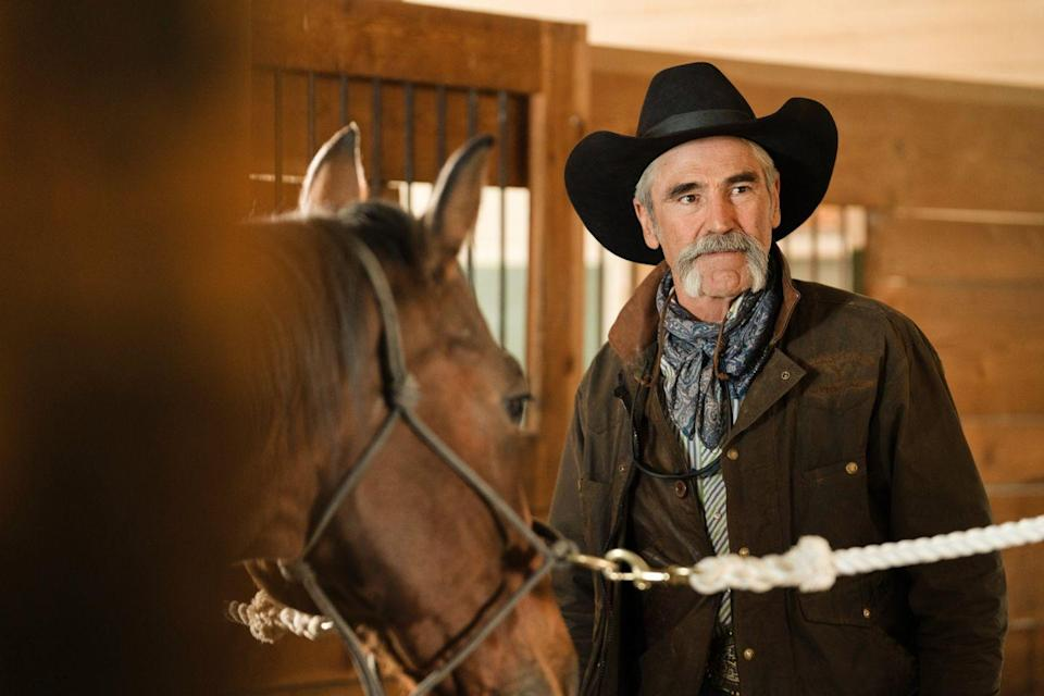 <p>Fan-favorite Lloyd is a hard-working ranch hand on <em>Yellowstone. </em>A real-life cowboy, Smith spent 25 years working as a stuntman in movies like <em>Tombstone</em> and <em>Desperado</em>. <em>Yellowstone</em> is his first acting job as a series regular.</p>