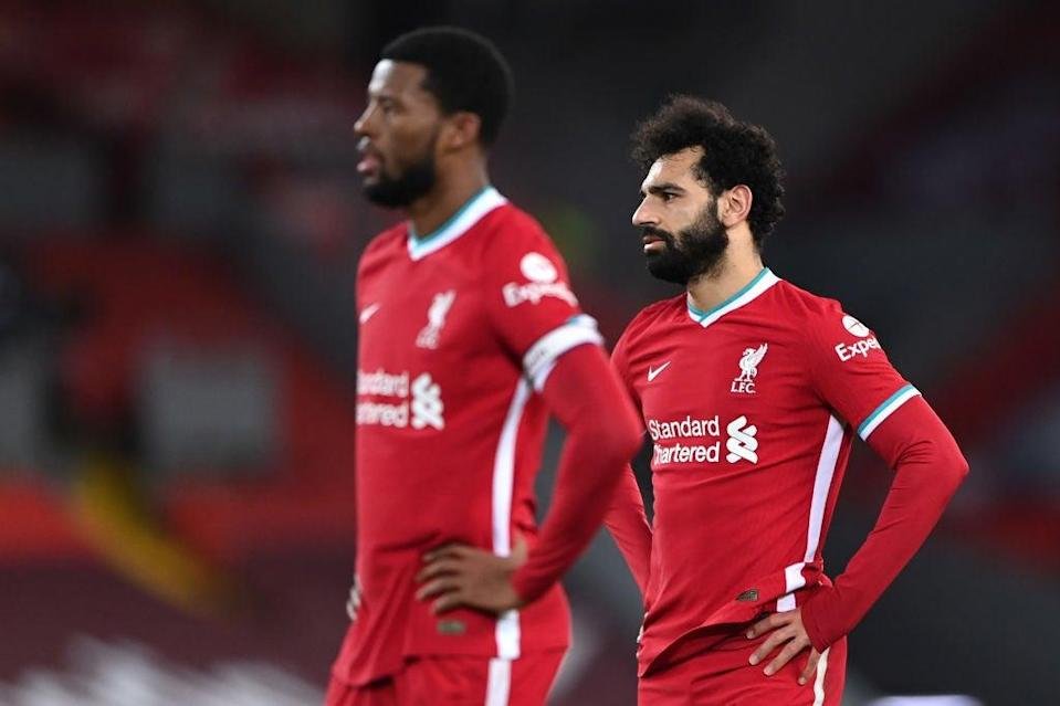 <p>Liverpool face a battle to get back into the top four</p> (Getty Images)