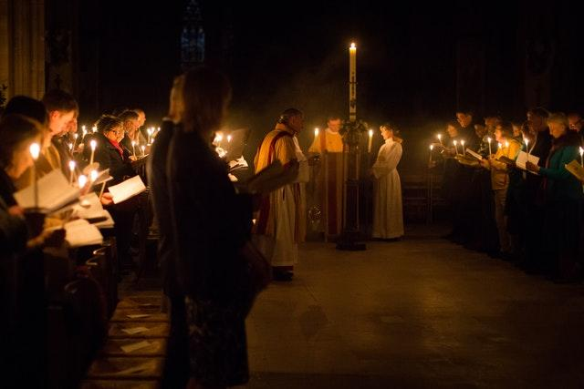 Lichfield Cathedral Easter Vigil