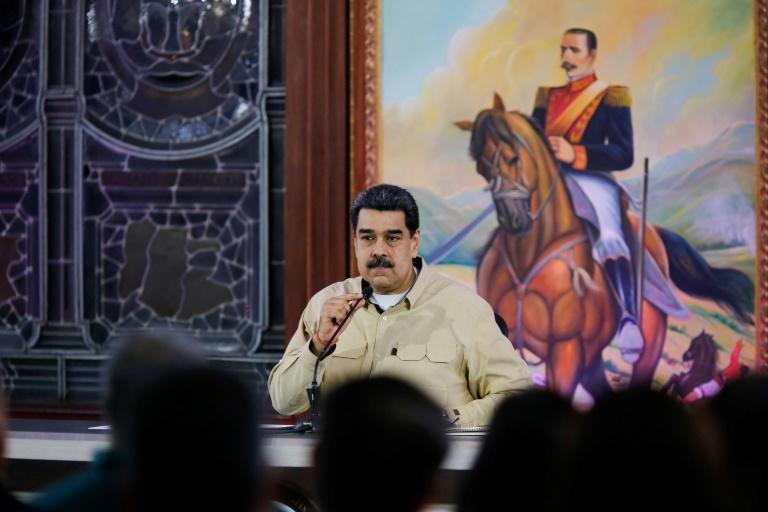 Venezuela's President Nicolas Maduro who says military personnel have been jailed in recent months for plotting against him