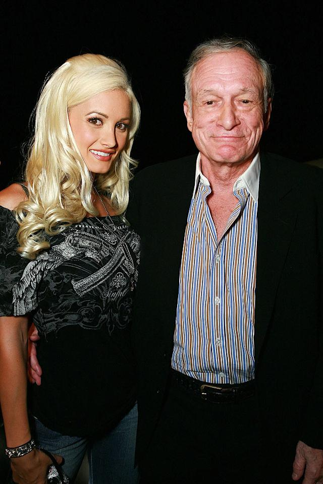 """When Holly Madison realized she'd never be able to marry or have babies with Hugh Hefner, she decided it was time to move on ... to magician Criss Angel! Tiffany Rose/<a href=""""http://www.wireimage.com"""" target=""""new"""">WireImage.com</a> - August 7, 2008"""