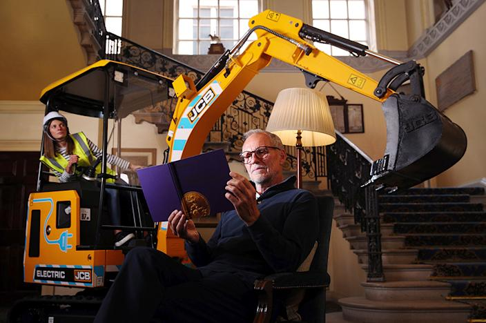 Quiet machine: The 19C-1E in a reading room in London's Caledonian Club