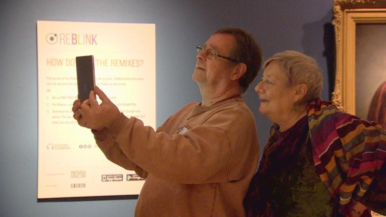 AGO's ReBlink exhibit combines augmented reality and classic paintings