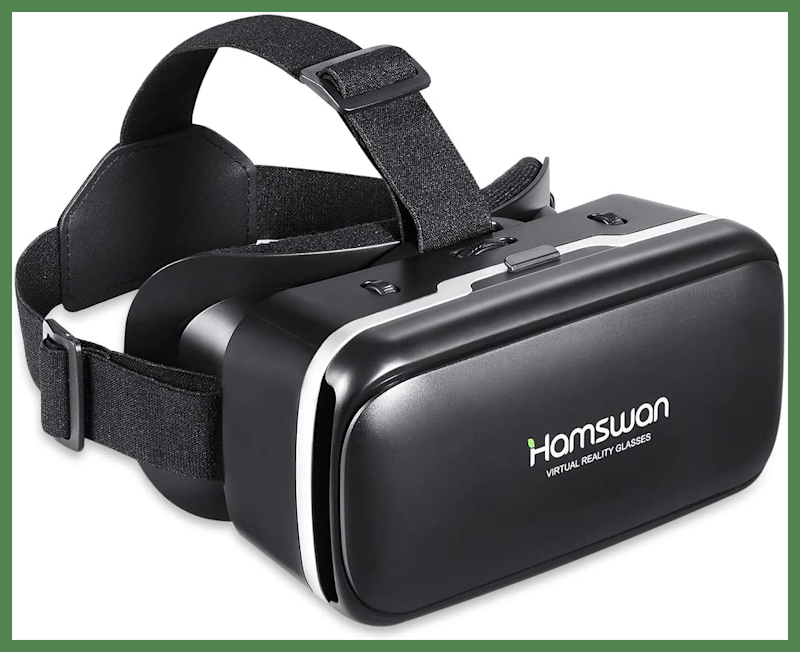 For Prime members only: Save $5 on this HAMSWAN 3D Virtual Reality Headset. (Photo: Amazon)