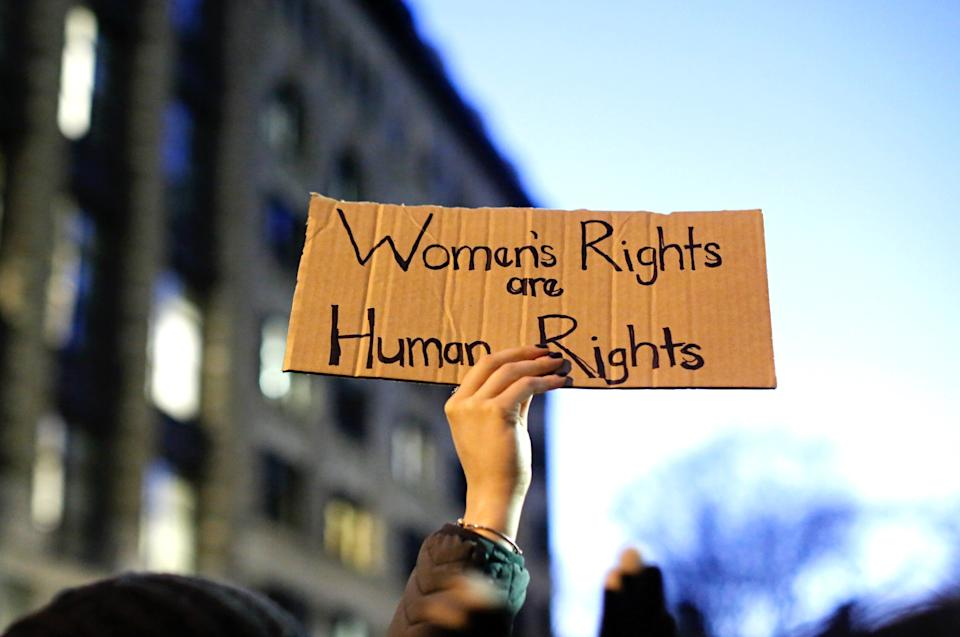 """""""Feminism is me, and it has been for as long as I can remember."""" (Photo: KENA BETANCUR via Getty Images)"""