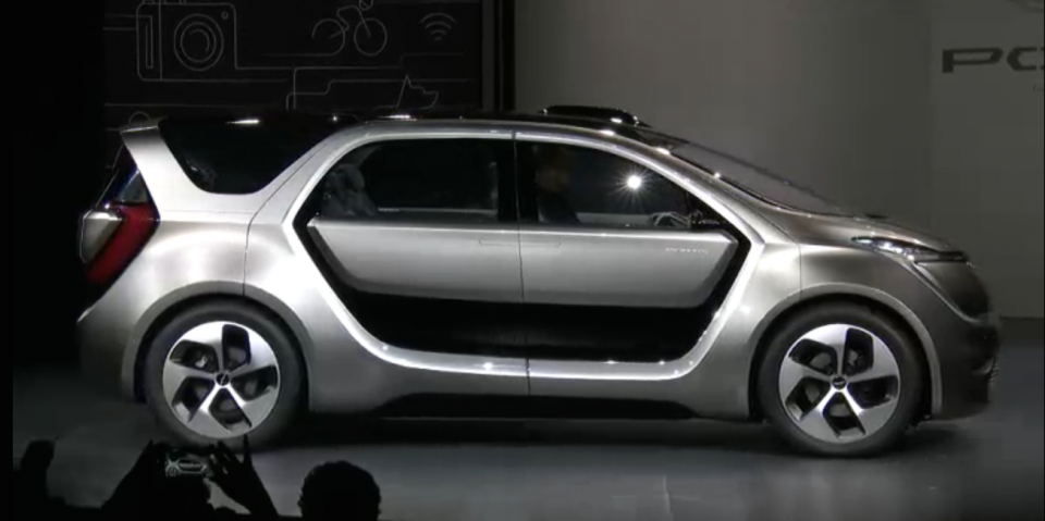 <p>No. 1: Fiat Chrysler unveiled a concept car geared for high-tech millennials at CES this year. The car isn't all that eye-catching purely from an aesthetic perspective. It's large, boxy, and heavy looking. </p>