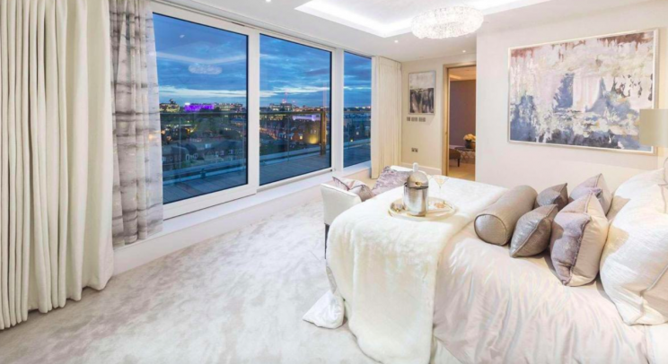 Two-bedroomed apartments in the complex sell for £2.5m (Berkeley Group)
