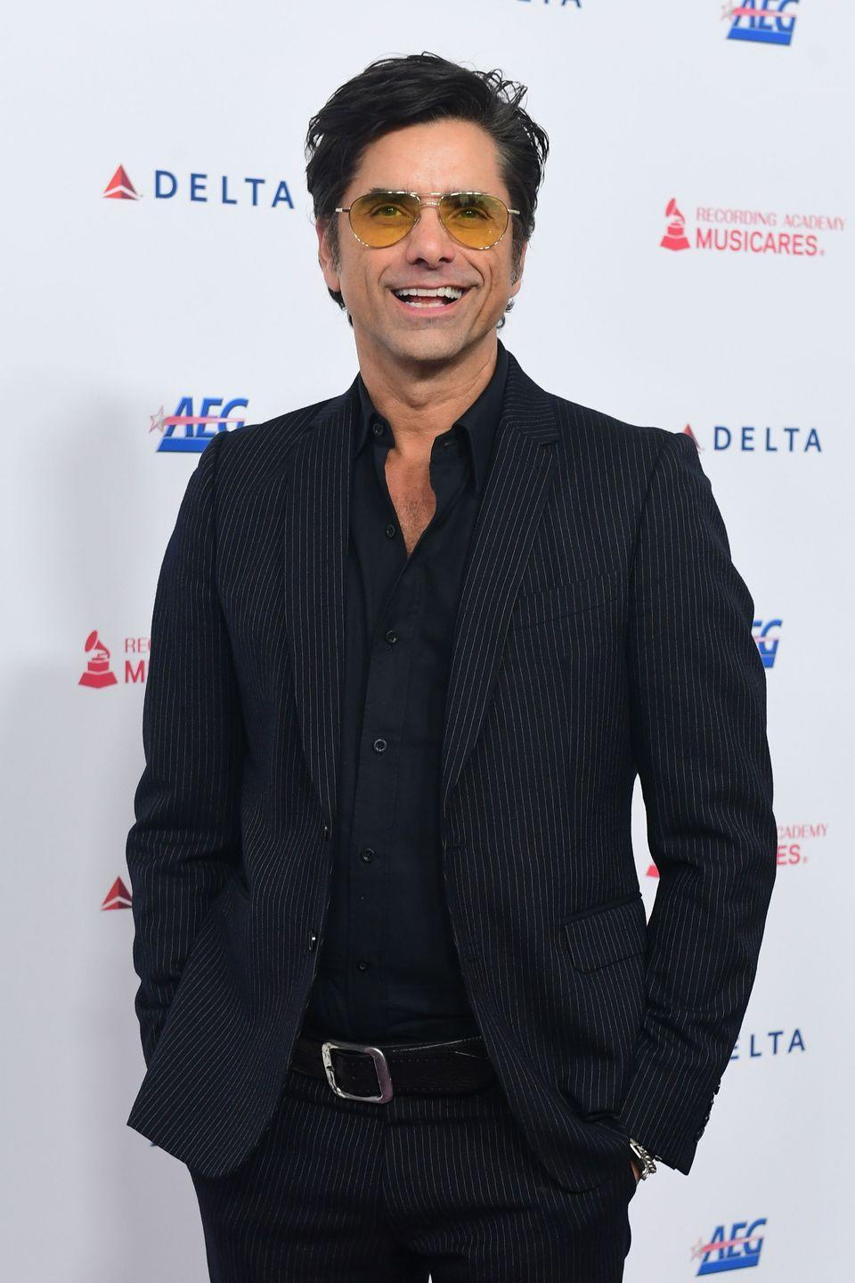 "<p><strong>Birthday: </strong>August 19</p><p><strong>Age Turning: </strong>57</p><p>Stamos, who turns 57 this year—will always look like Elvis to us—even <a href=""https://www.oprahmag.com/entertainment/a30105484/john-stamoss-son-thinks-dad-is-elvis/"" rel=""nofollow noopener"" target=""_blank"" data-ylk=""slk:his two-year-old son agrees."" class=""link rapid-noclick-resp"">his two-year-old son agrees.</a><br></p>"