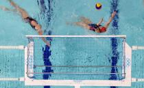 Water Polo - Women - Semifinal - Russian Olympic Committee v USA