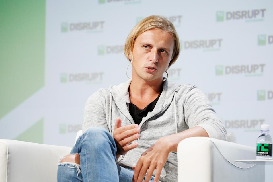 Revolut CEO Nikolay Storonsky speaks onstage during Day 2 of TechCrunch Disrupt SF 2018 in San Francisco, California. Photo: Kimberly White/Getty Images for TechCrunch