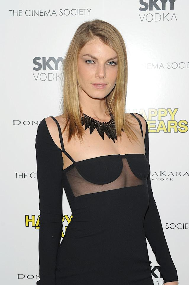 "<a href=""http://movies.yahoo.com/movie/contributor/1804736303"">Angela Lindvall</a> at the New York Cinema Society screening of <a href=""http://movies.yahoo.com/movie/1810027690/info"">Happy Tears</a> - 02/16/2010"