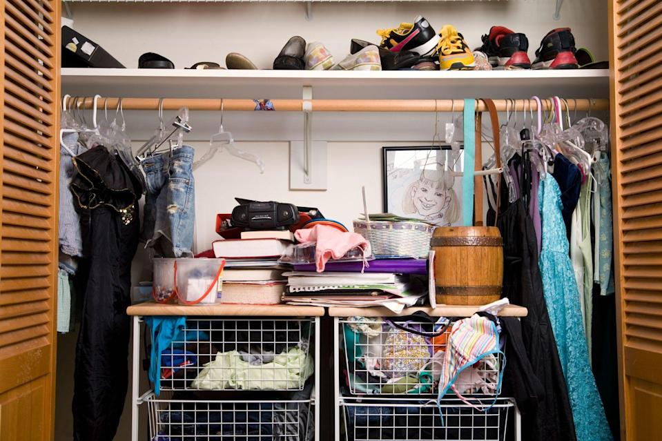 <p>When you've got years worth of stuff to get rid of and you don't know where to begin, it's hard to know how to declutter your home. It's time to Marie Kondo your life. From bras that don't fit to spices that expired years ago, here are 40 things it's time to ditch if you're a person over 40 (or you're simply looking to take the next big step in home organization). Something doesn't spark joy? Get rid of it! </p>