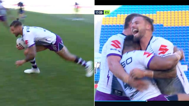 Sandor Earl Scores First Try In Nrl For Almost Six Years