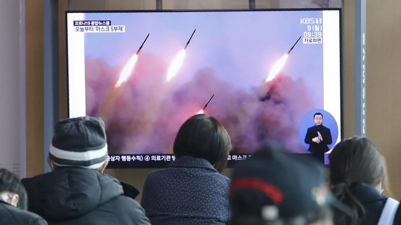 South Korea Calls North Korea's Missile Firing Amid Coronavirus 'Inapproriate'