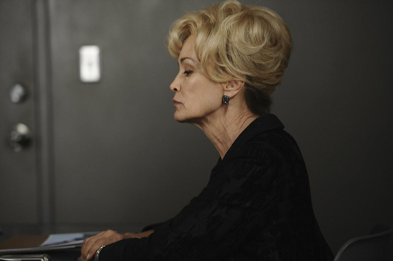 <p>Lange took home two Emmys for her work on <em>American Horror Story </em>but hasn't worked on the show since <em>AHS: Freak Show</em> (season 4). Halfway through the season, the rumor that she would appear in <em>Apocalypse</em> as her character from Murder House turned out to be true. Constance ended season 1 caring for her grandson, who also happens to be the demonic offspring of a human (Vivien Harmon) and literally evil itself. </p><p>We learn in <em>Apocalypse </em>that Constance cared for Michael until his violent tendencies became too much for her. She took her own life in Murder House and resides with the other spirits (including three of her children) who live there.</p>