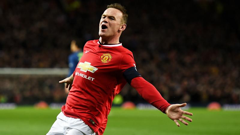 Image result for wayne rooney in man united