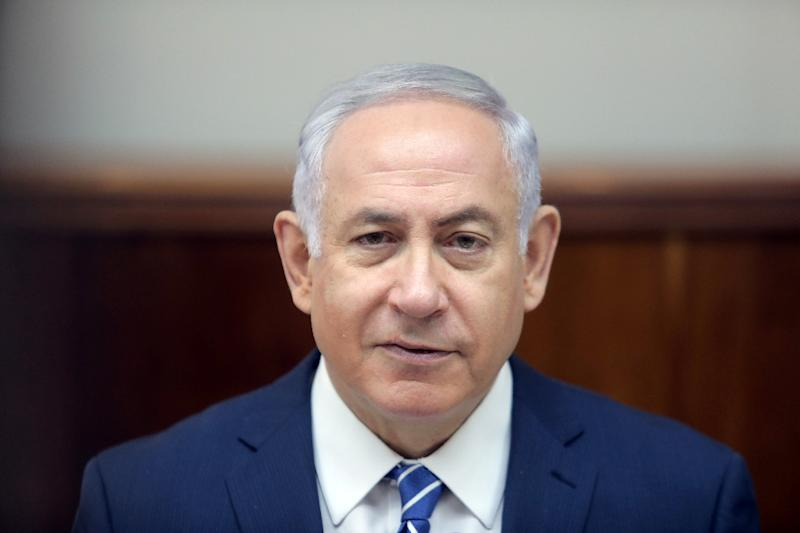 """Prime Minister Benjamin Netanyahu has criticised what he calls """"fake news"""" in the Israeli media implicating him in alleged corruption cases"""