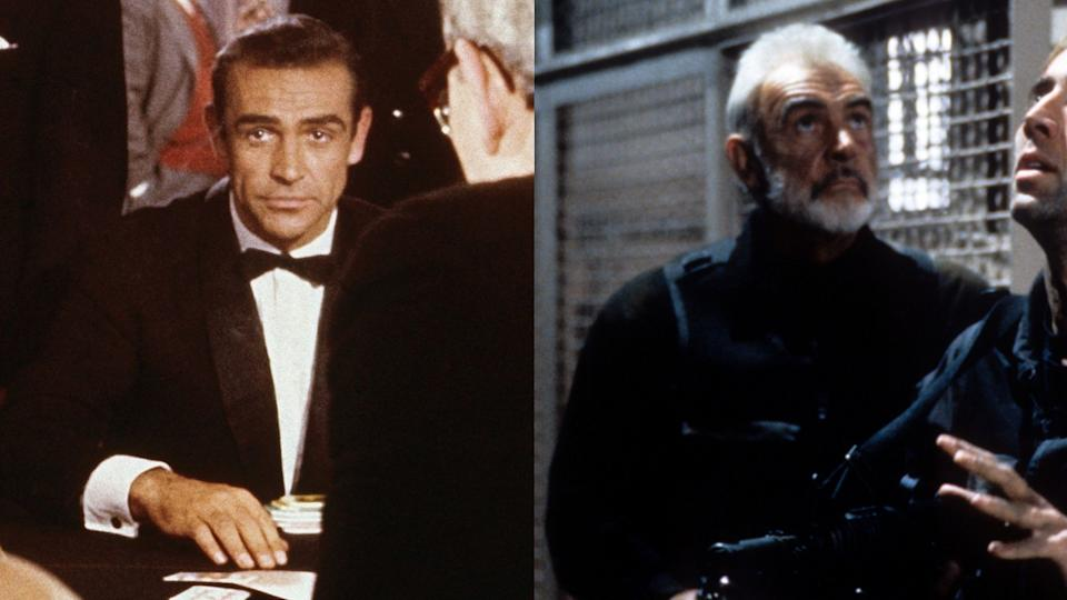 Sean Connery could be playing an older James Bond in Michael Bay thriller 'The Rock'. (Credit: Eon/Disney)