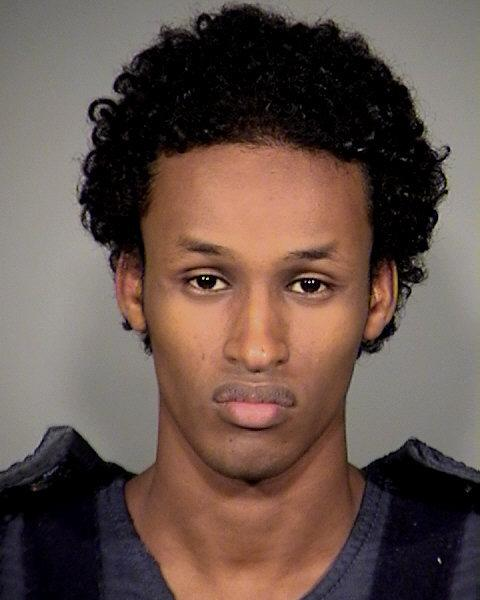 This image provided by the Mauthnomah County Sheriff's Office shows Mohamed Osman Mohamud, 19, arrested and charged with attempted use of a weapon of mass destruction. Officials say he tried to detonate a vehicle bomb at Pioneer Courthouse Square during the tree lighting ceremony Friday, Nov. 26, 2010. They said the bomb was a dummy that FBI agents supplied him. (AP Photo/Mauthnomah County Sheriff's Office)