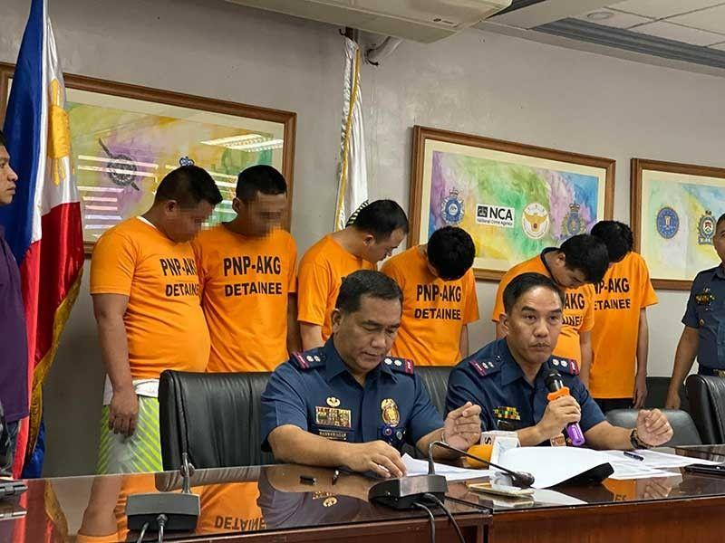 8 Chinese arrested for kidnapping fellow citizens